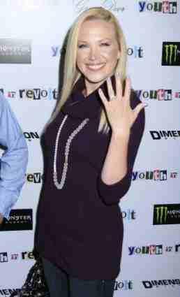 Adrienne Frantz Engagement Ring