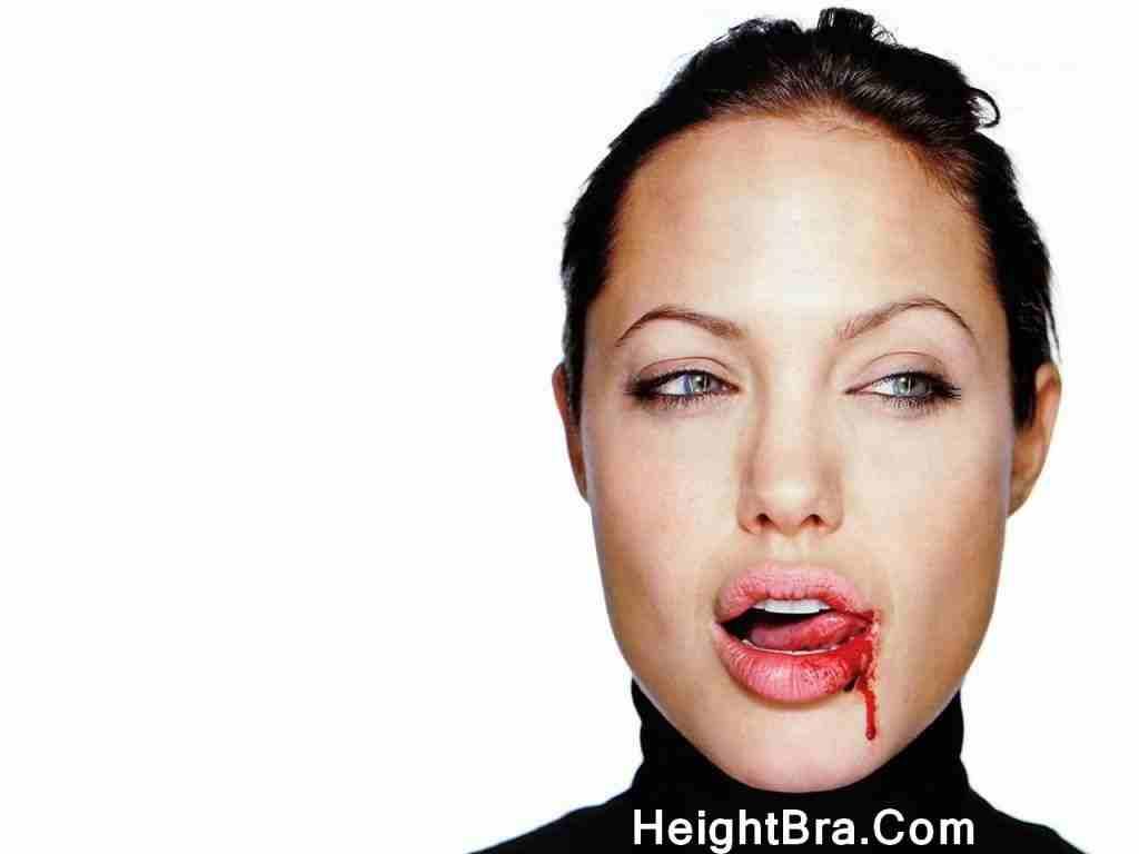 Angelina Jolie Lips Tounge