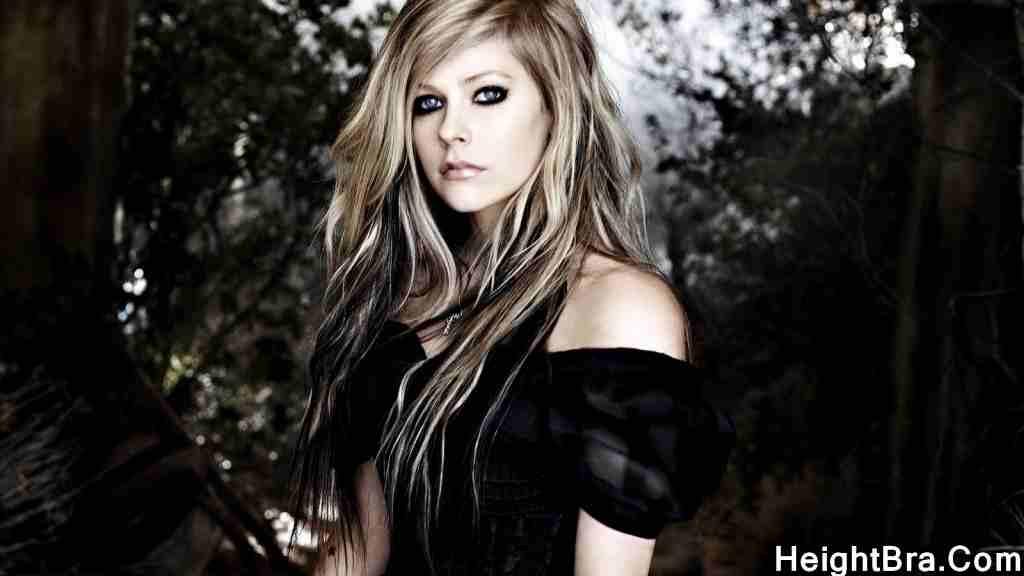 Avril Lavigne Bra Size
