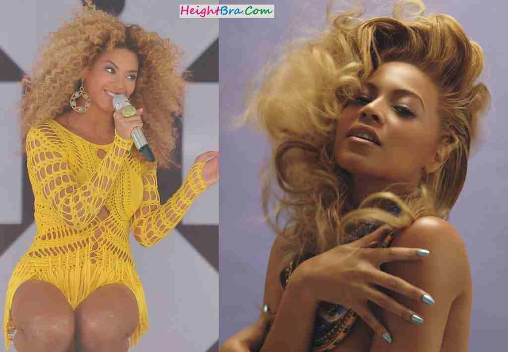 Beyonce Knowles Breast Size