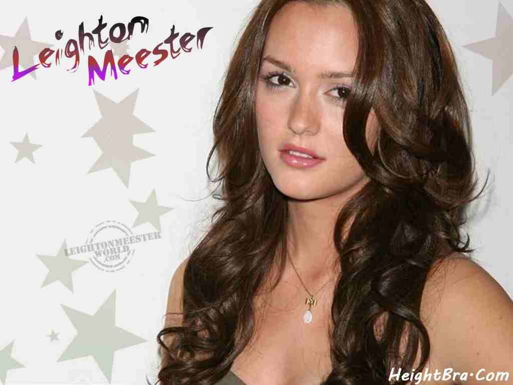 Leighton Meester Age Height Weight Hips