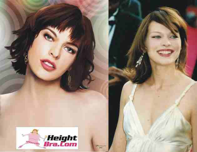 Milla Jovovich Height Weight